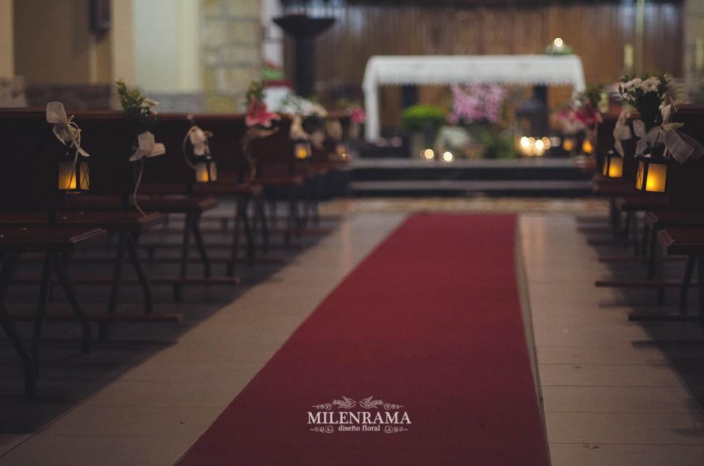 alfombra iluminada