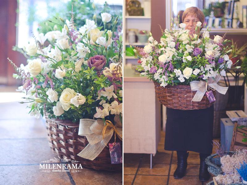 Arreglo floral para Fernando García, asistente de diseño de Oscar de la Renta